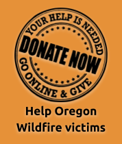 Donate and help Oregon Wildfire victims